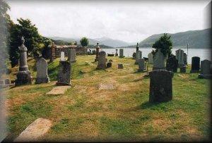 Ullapool History - Graveyard